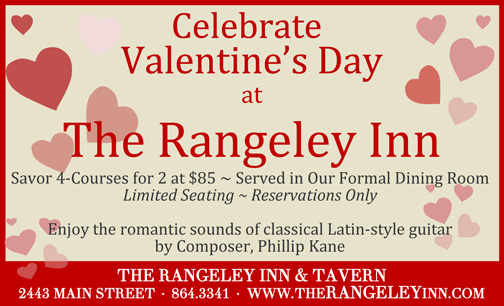 The Rangeley Inn  Advertisement