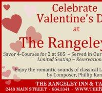 The Rangeley Inn  Advertisement