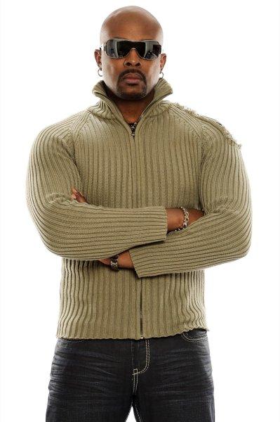 Anslem Douglas - beige sweater