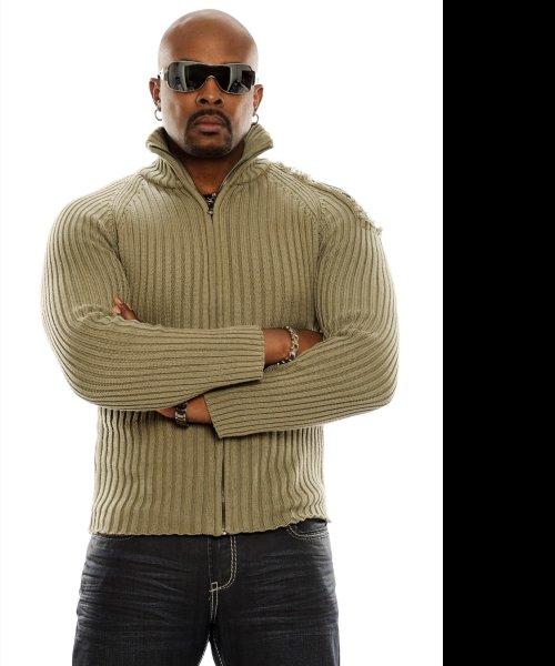 Anslem Douglas - beige sweater by Anslem Douglas