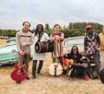 Batch Gueye Band at Bristol Volksfest