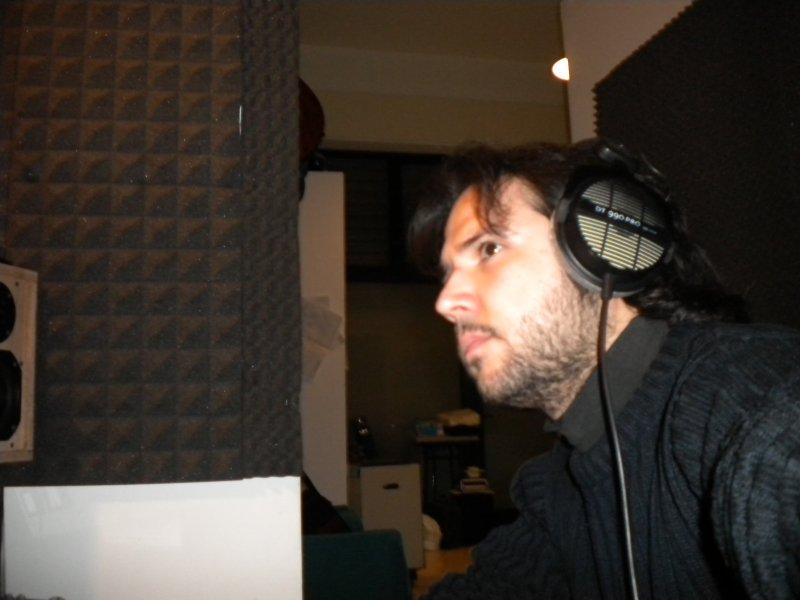 Mimmo D\'ippolito in studio
