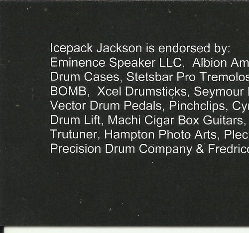 icepack\'s new biz cards back side by Icepack Jackson