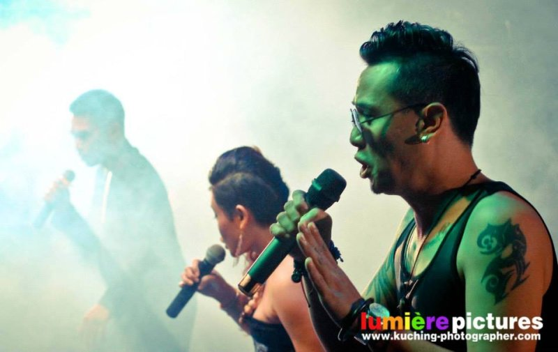 \'Umbas\' at Kuching Entertainer\'s Night 2014