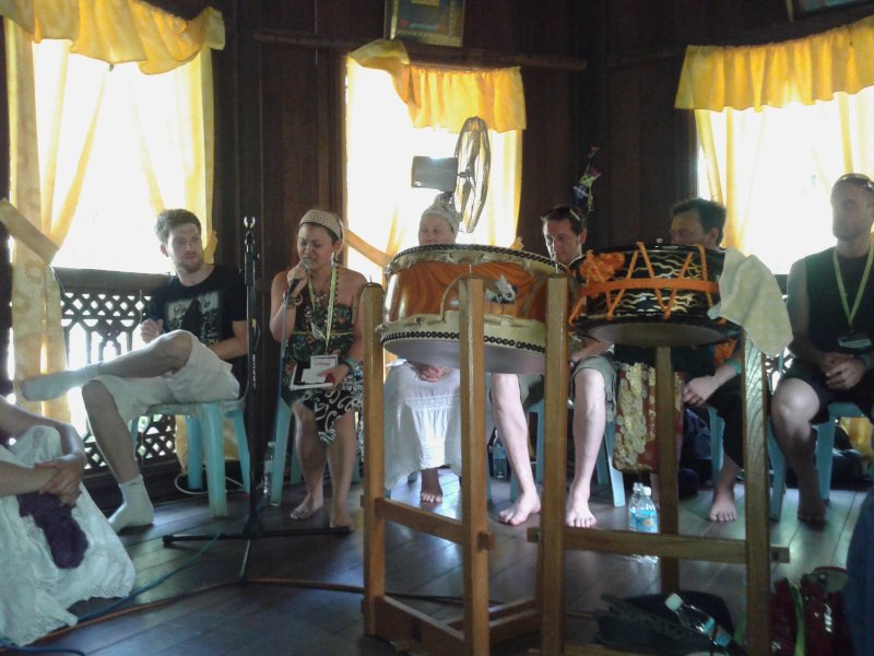 Vocal Workshop \'The Voice\' at RWMF 2014