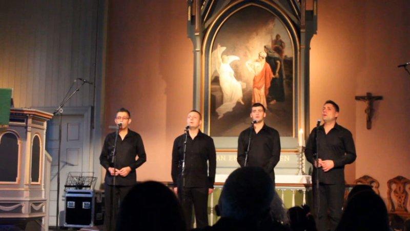 Svetoglas quartet - Sacred music festival in Norway by SVETOGLAS-The Mystique Of Bulgarian Polyphony©