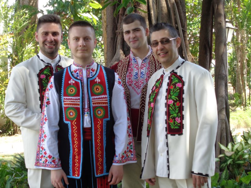 Vocal quartet Svetoglas in Colombia by SVETOGLAS-The Mystery Of Bulgarian Polyphony©
