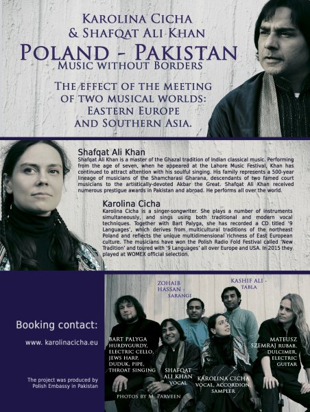 Poland-Pakistan. Music Without Borders - The Concert offer