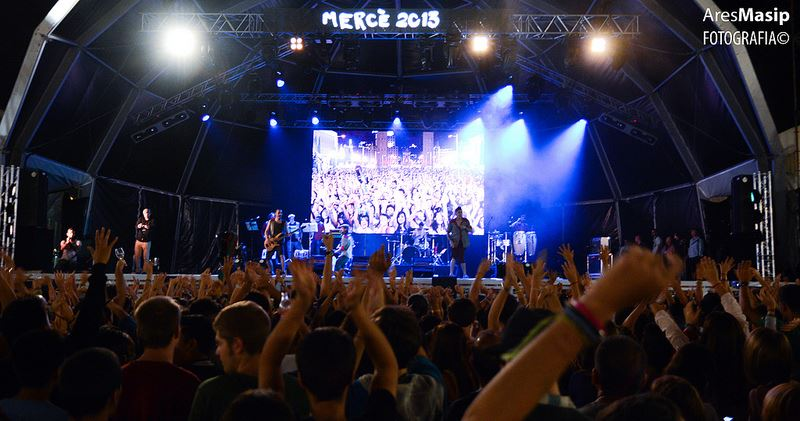 Los Barrankillos Fiestas de la Mercè (Barcelona)  2013