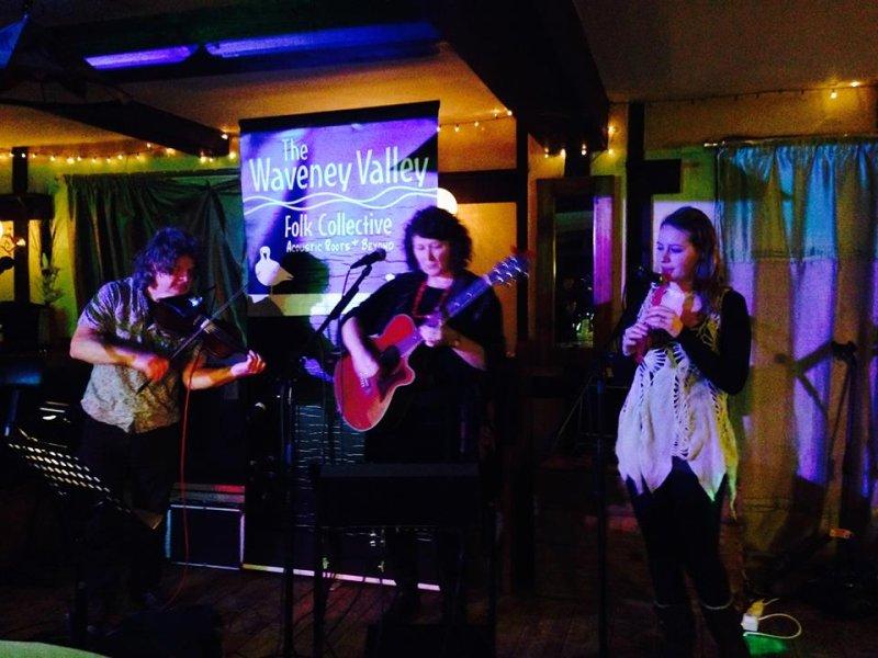 Waveney Valley Folk Collective 3rd Feb 2015