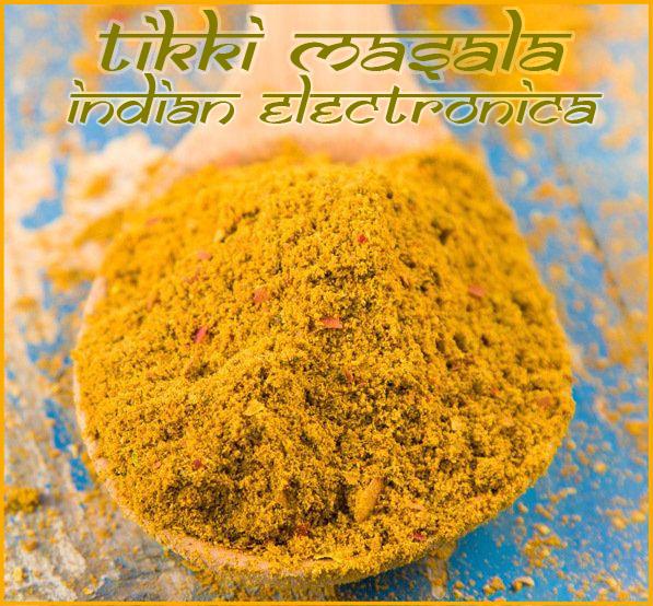 Tikki Masala Indian electronica world fusion spoon by Tikki Masala