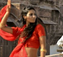 Shooting a video clip in Rajastan, India