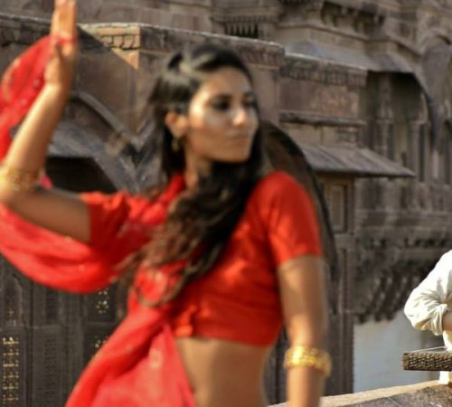 Shooting a video clip in Rajastan, India by Light In Babylon