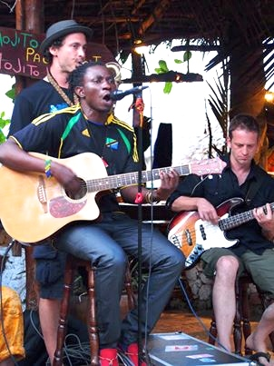Jamming on Zanzibar