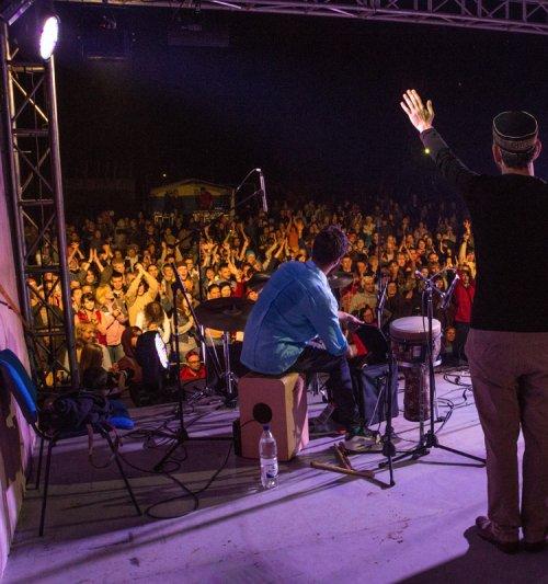 Mesel on Krutushka Ethnic Music Fest Stage - Kazan/Russia