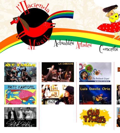 Hacienda\'s Artists by Hacienda Musik