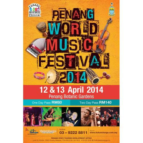 Penang World Music Festival 2014