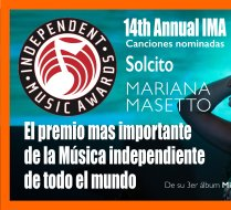 Solcito song nominated to the Independet music Award