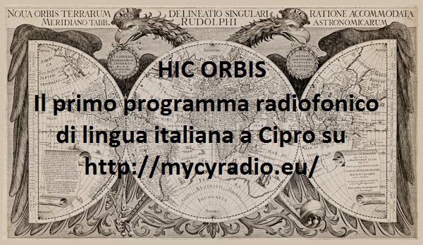 Hic Orbis su MYCYradio