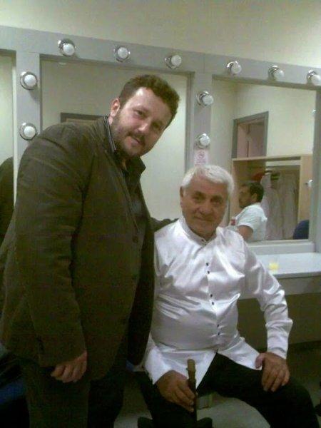 with Djivan Gasparyan in Istanbul