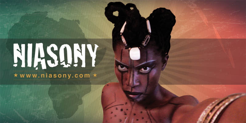 Niasony - Afroplastique Style with Message!