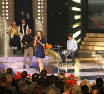 Music TV show on Croatian national television