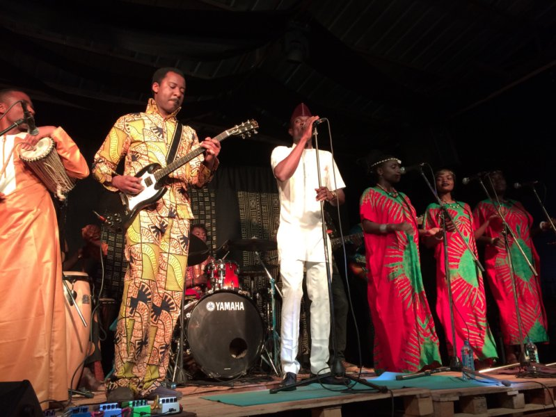Live with Orchestre Lipombe Jazz