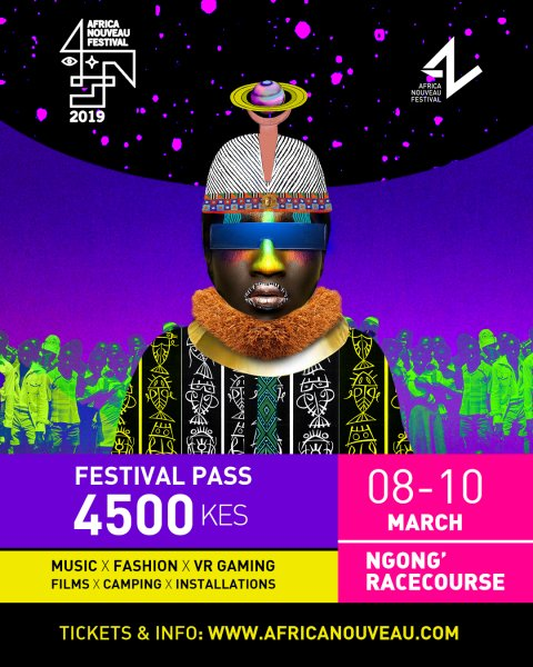 AFRICA NOUVEAU 2019 FESTIVAL Poster