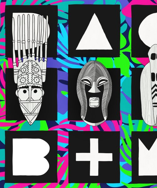 B+W Album Cover by Dakar Audio Club