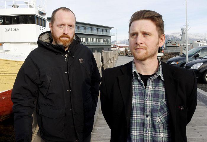 gímaldin with sometimes drummer Þorvaldur Gröndal