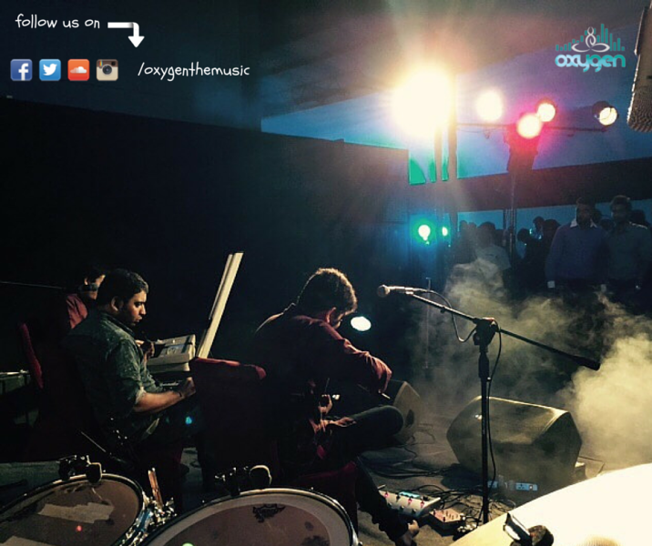 Oxygen, Music Band from Chennai performing at a Corporate Show