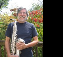 With my 1936 G.H. Huller alto saxophone