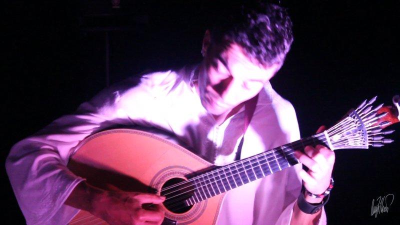 Senhora do Ó live with Hugo Claro (Portuguese Guitar) 2014