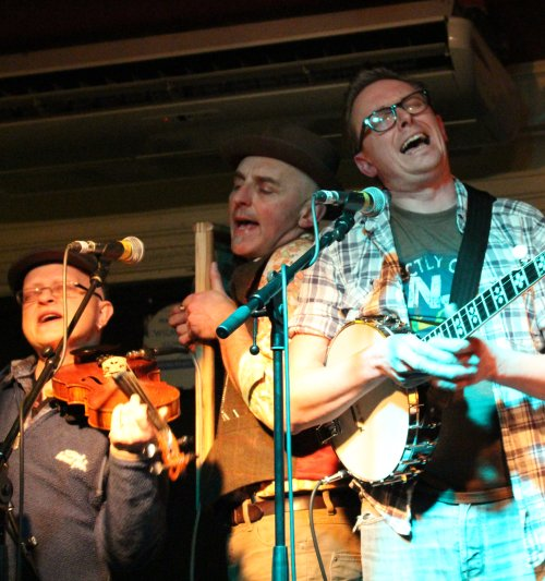 Skiffle Show at the Rescue Rooms Nottingham (UK) by DH Lawrence & The Vaudeville Skiffle Show