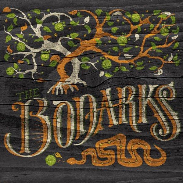 The Bodarks self-titled album cover