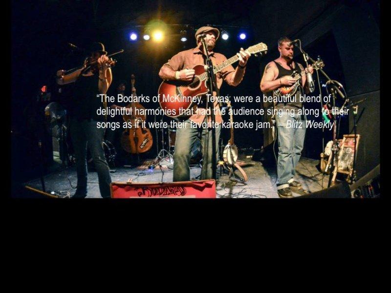 The Bodarks at The Big Folkin\' Fest IV (Dallas, 2015)
