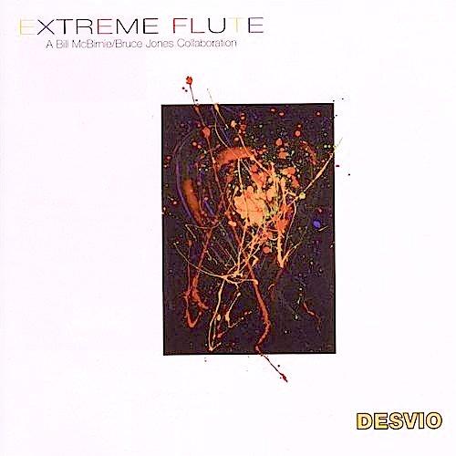 Desvio - album cover by Bill McBirnie - EXTREME FLUTE