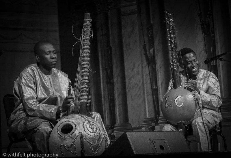 Lamine Cissokho and Ballake Sissoko