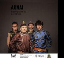 AJINAI - Inner Mongolian Folk Rock & World Music