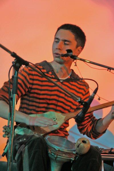 Famous multi-instrumentalist Bulat Gafarov