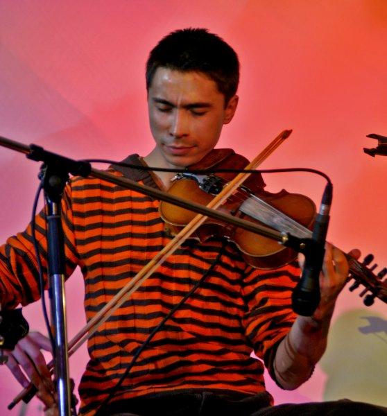 Ethnic violinist / multi-instrumentalist Bulat Gafarov