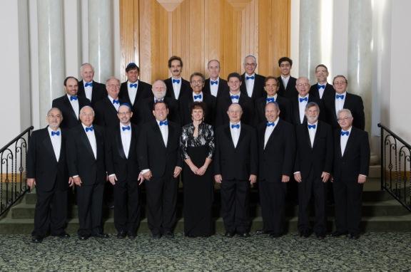 The San Diego Jewish Men\'s Choir  formal photo