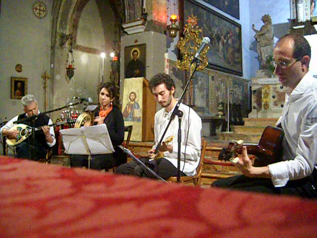 ΝεοχώριNEOCHORI in concert at San Giovanni in Bragora church - Venice - Italy