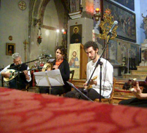 ΝεοχώριNEOCHORI in concert at San Giovanni in Bragora church - Venice - Italy