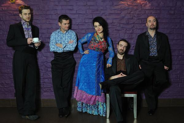 with Čači Vorba band