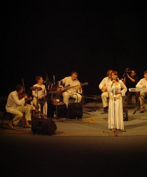 With Bilja Krstic & Bistrik inTimsoara - Romania 2005 by Branko Isaković