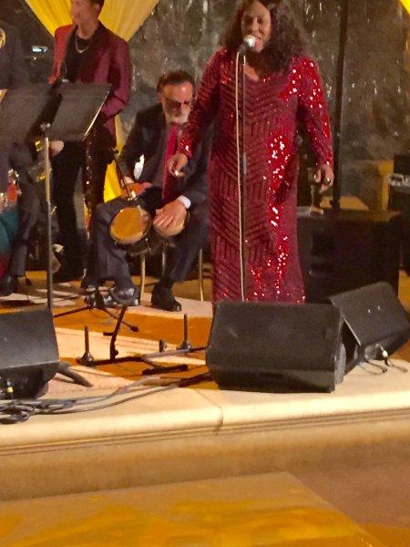 Rosala de Cuba performing with Andy Garcia by Rosalia De Cuba