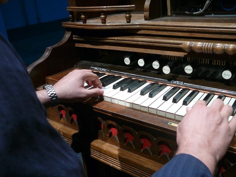 Mark at the keys by MAKAR