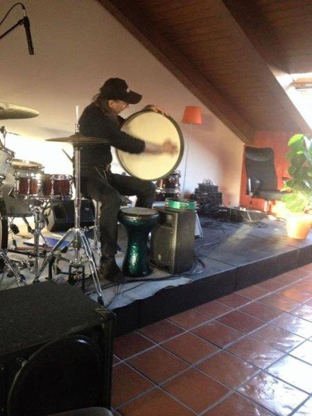 On hand drum