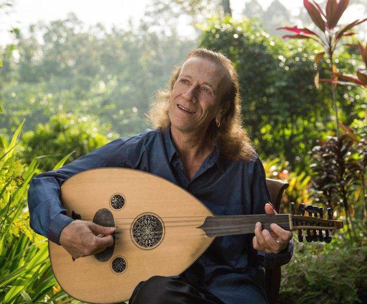 Anello in his garden in Bali by Anello